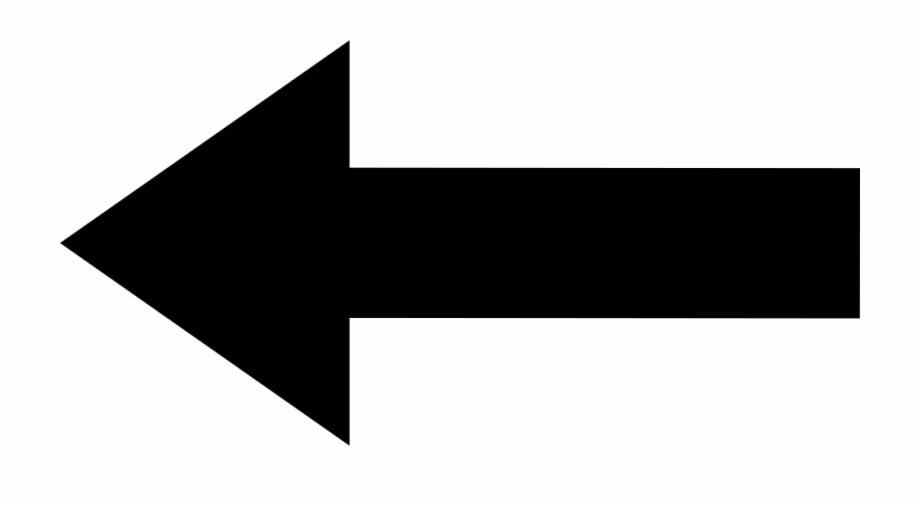 Left Back Straight Arrow.
