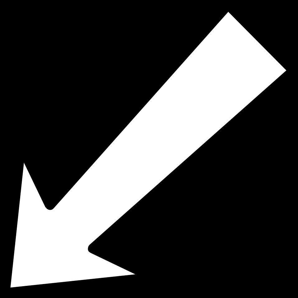 White Arrow Cliparts.