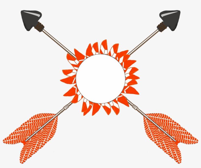 Tribal Arrow Clip Art.