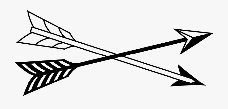 Crossed Arrows Transparent , Transparent Cartoon, Free.
