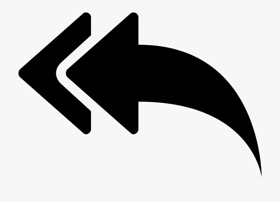Reply All Arrow Icon.