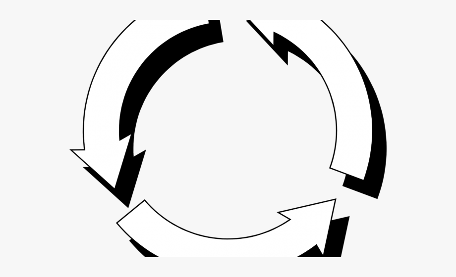 Arrows Clipart Recycling.