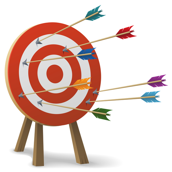 Clipart Missing The Target.