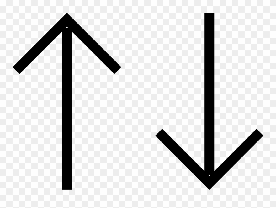 Up And Down Straight Arrows Comments.