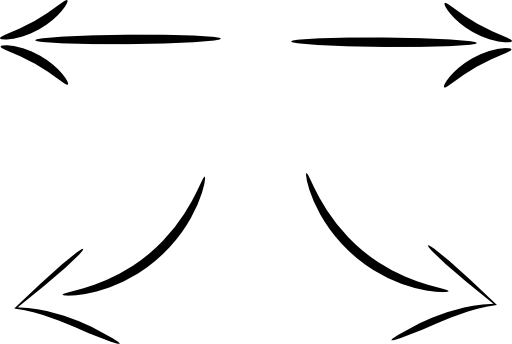 Split Arrow Clip Art (24+).
