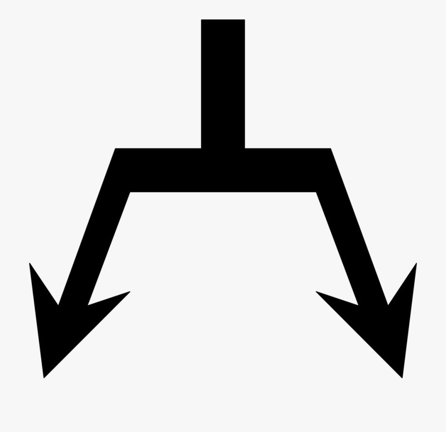 Diagonal Arrow Clip Art.