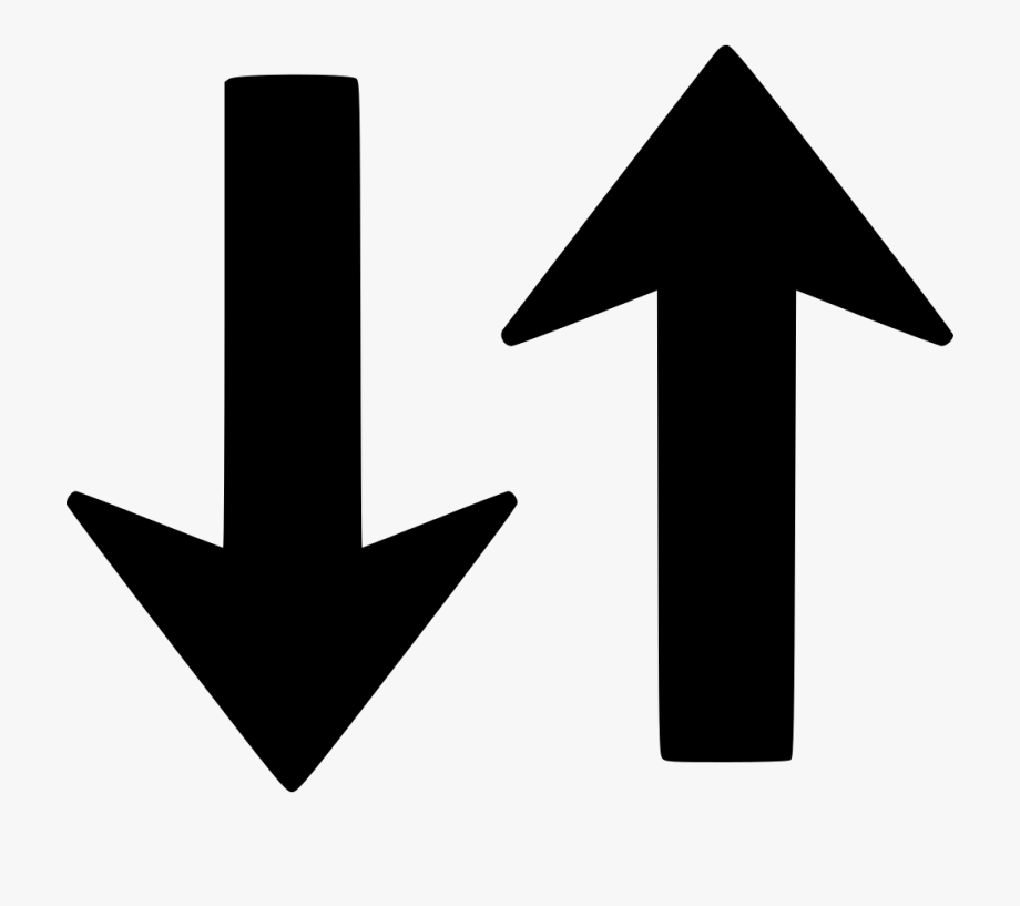 Swap Clipart Up And Down Arrow.