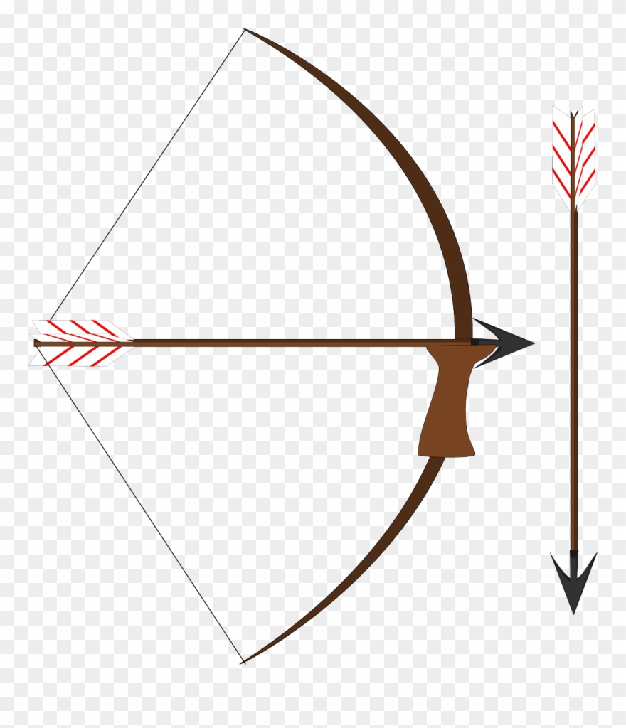Arrow Bow Weapon Medieval Weapon Png Image Clipart (#2587466.