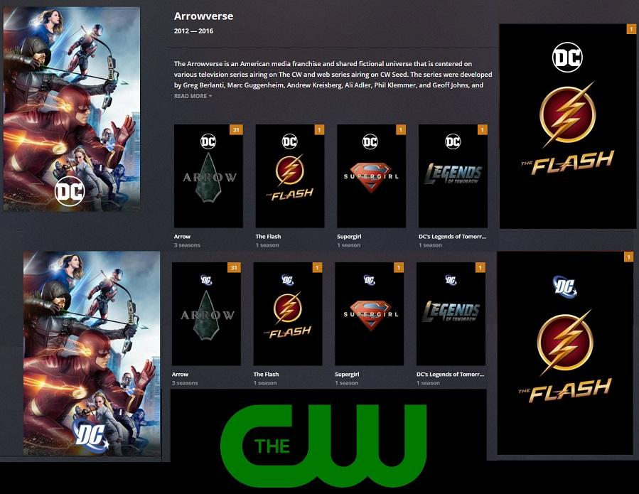 Collection] Arrowverse Collection (new DC logo added) + 2.