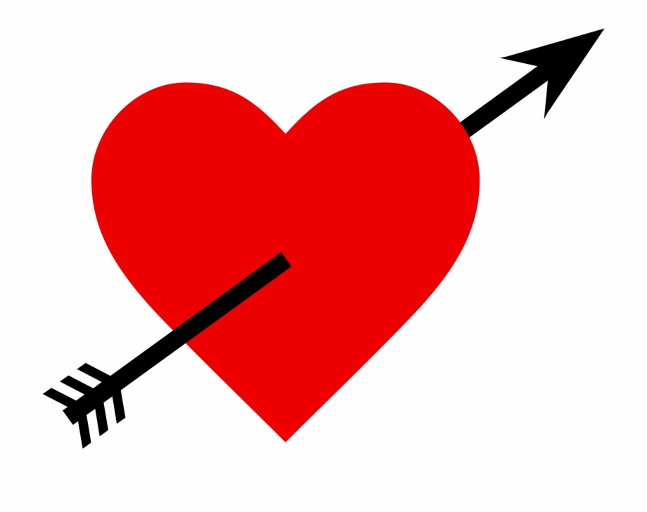 Arrow Clipart Romantic.
