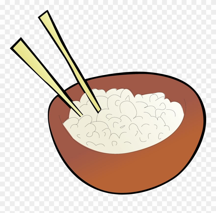 Fried Rice Cazuela Chinese Cuisine Clip Art.