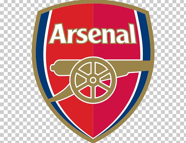 Arsenal F.C. Premier League Football Emirates Stadium Logo PNG.