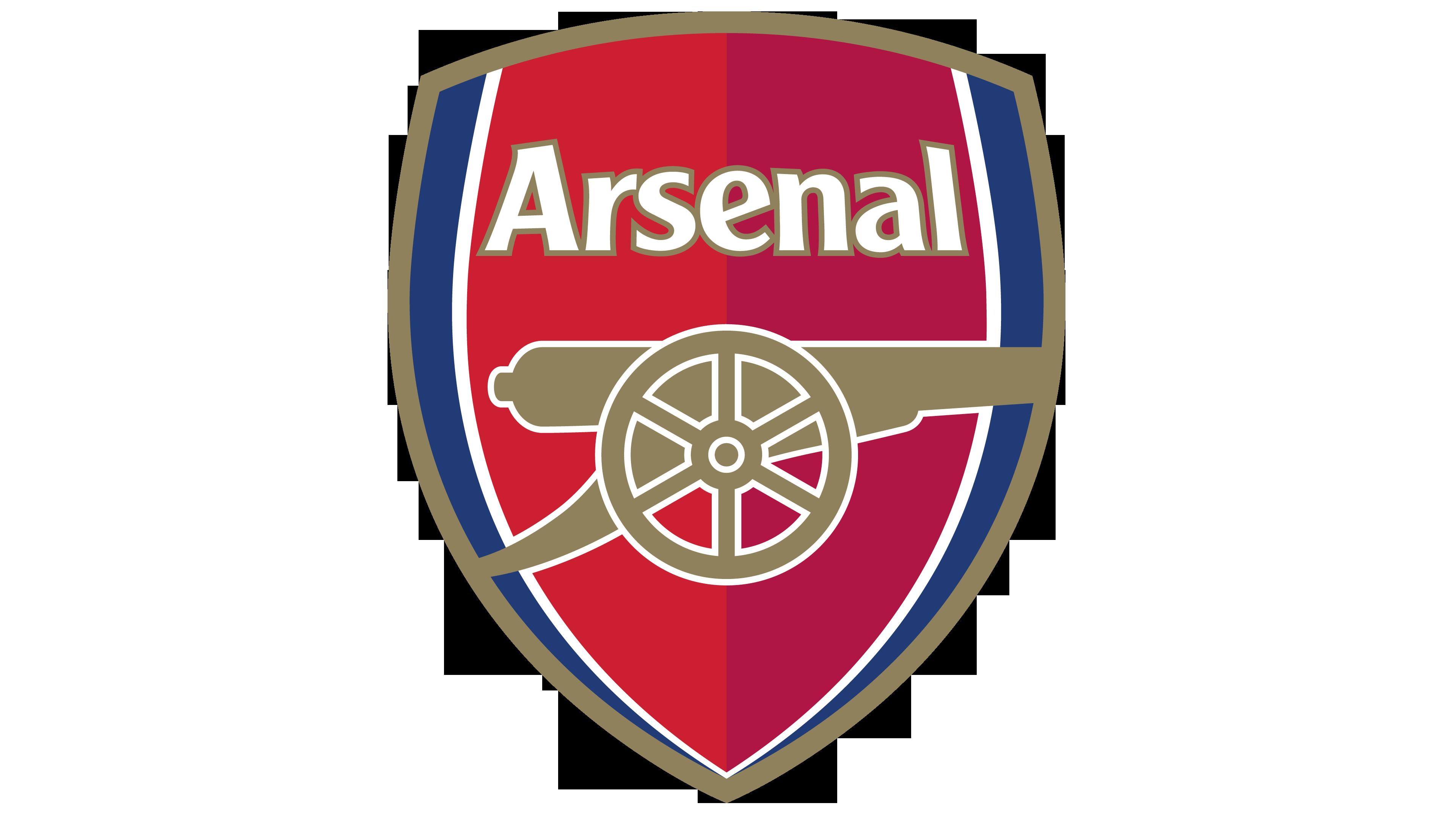 Arsenal logo.