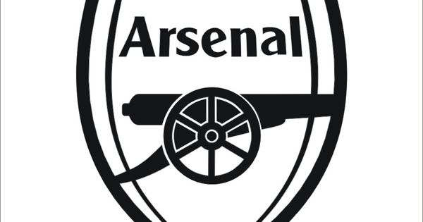 Arsenal black clipart.