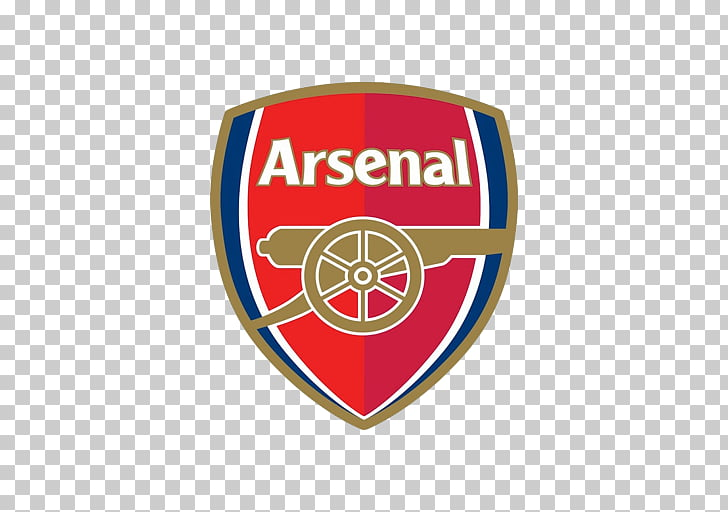 Arsenal F.C. Premier League Football Emirates Stadium Logo.