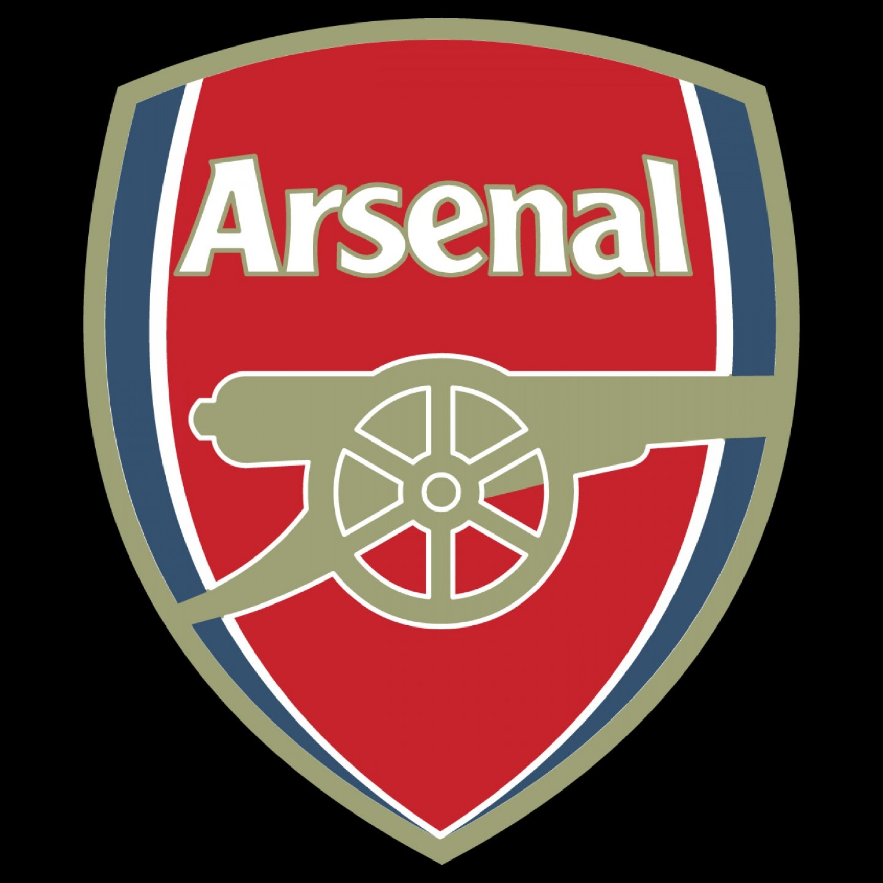 Arsenal Fc Football Club Logo Vector.