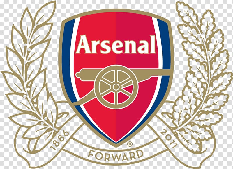 Arsenal F.C. Arsenal Stadium Premier League Desktop Logo.