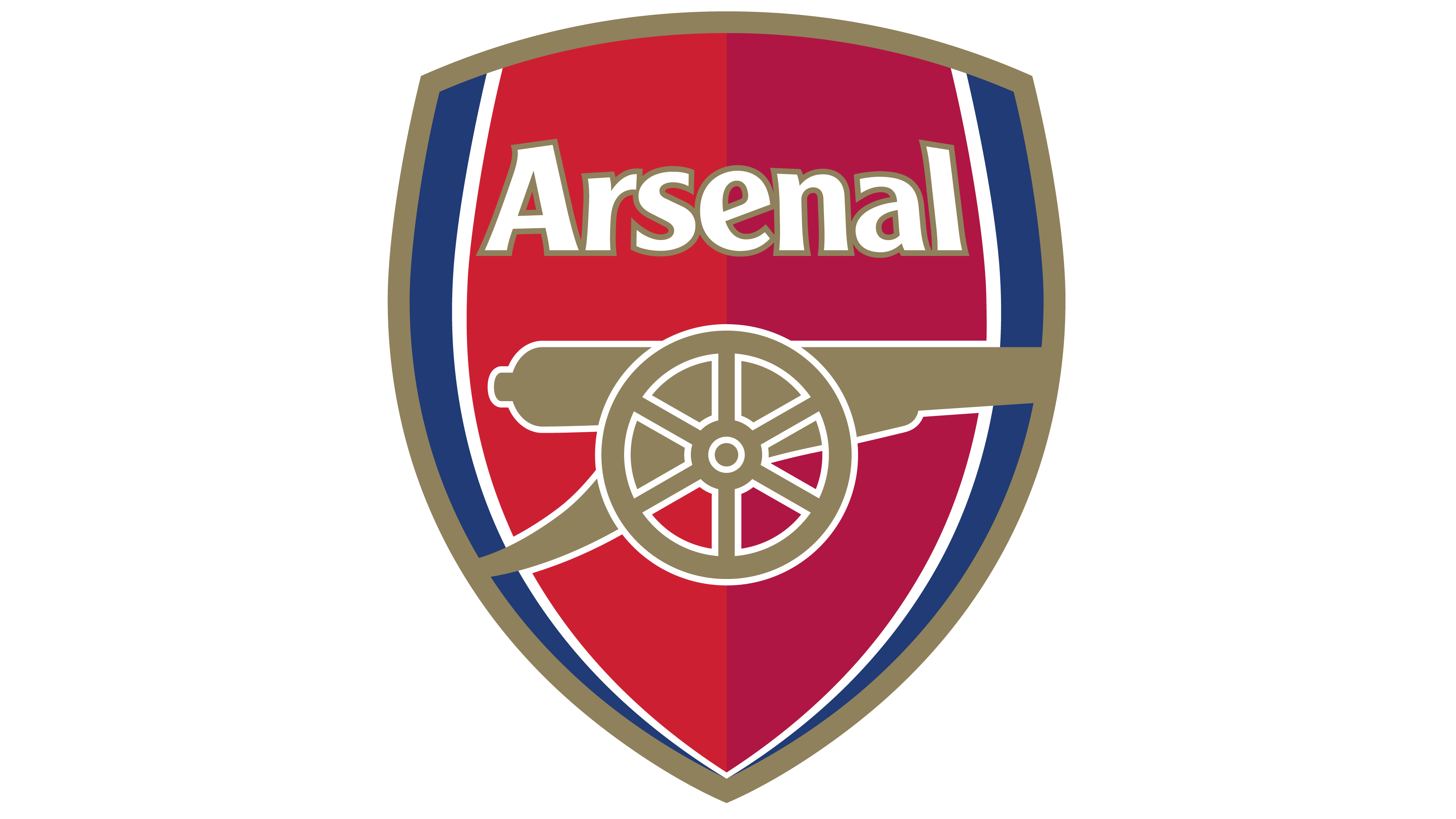 Arsenal logo.