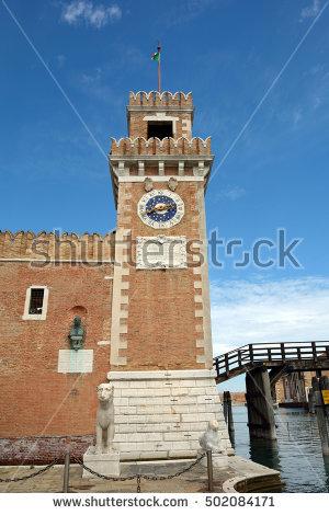 Venetian Towers Stock Photos, Royalty.