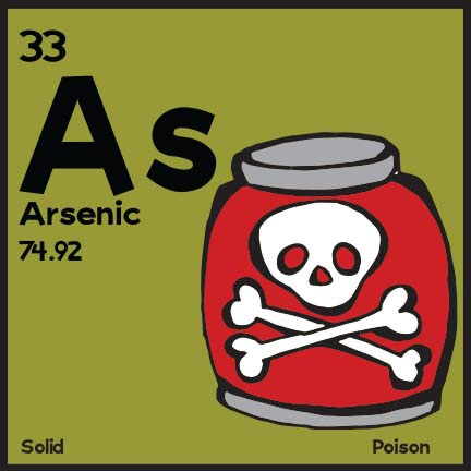 Arsenic.