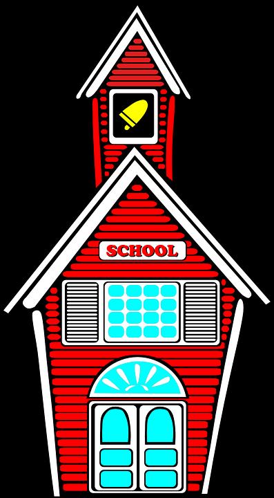 Gambar vektor gratis: Sekolah, Bangunan, Arsitektur.