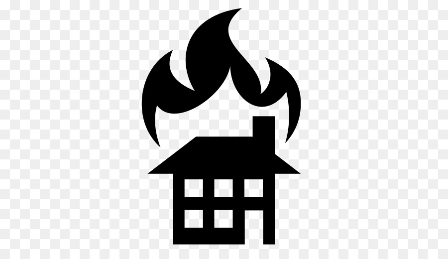 Fire Silhouette png download.