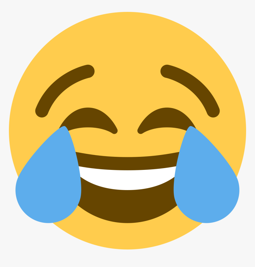 Clip Art Laughing With Tears Emoji.