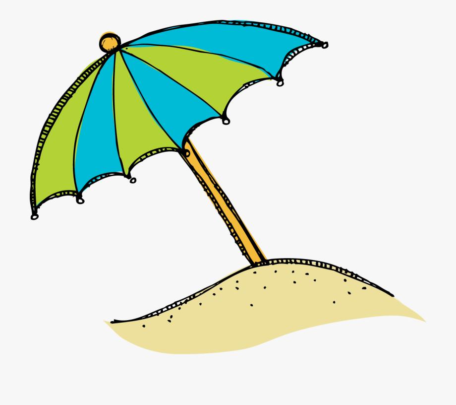 Beach Clip Art Cartoon Free Clipart Image.