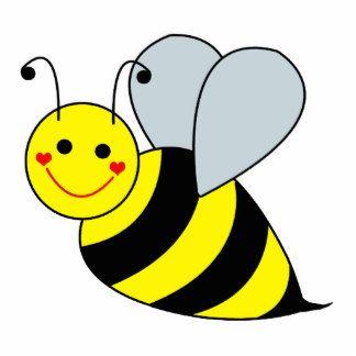 Cute Bee Clip Art.