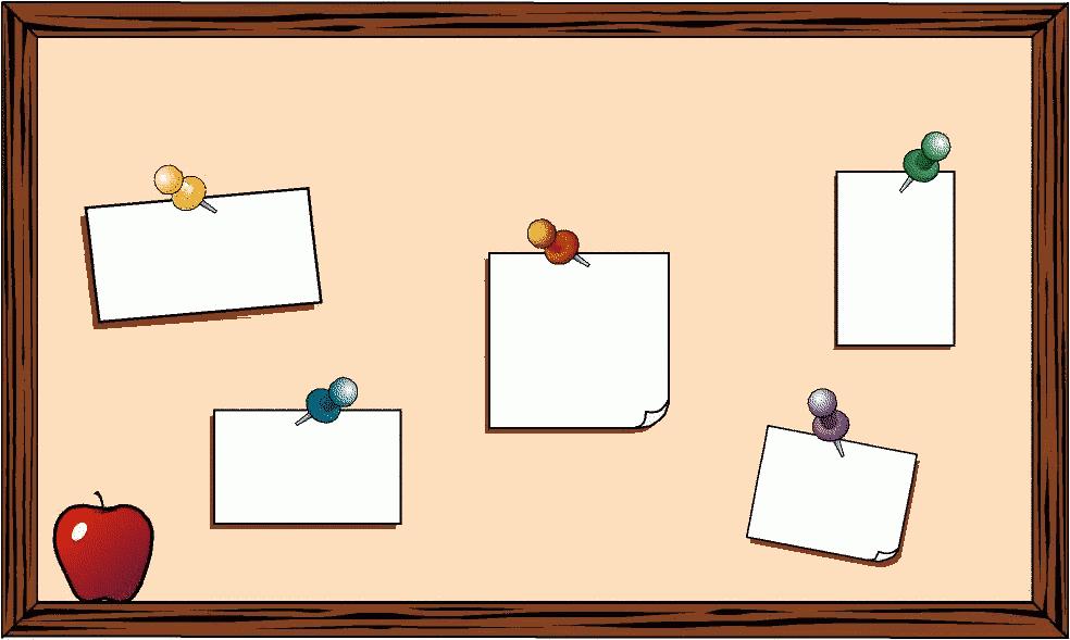Student Clip Art Board.