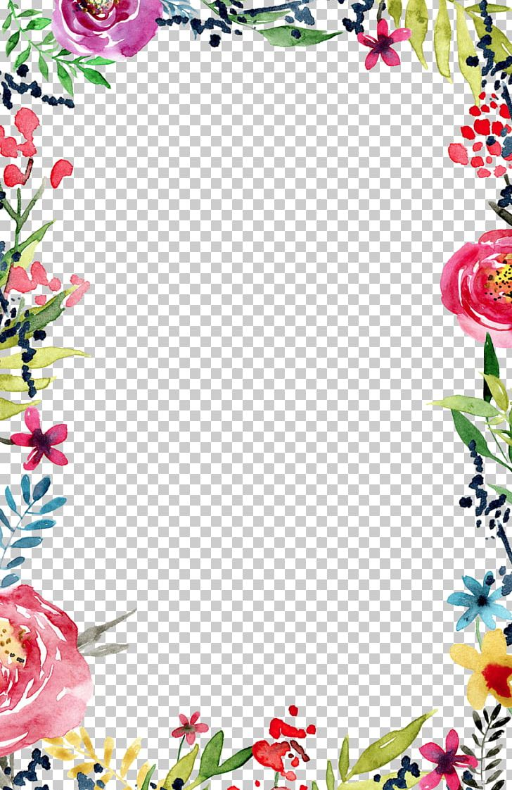 Wedding Invitation Flower Borders And Frames Template PNG, Clipart.