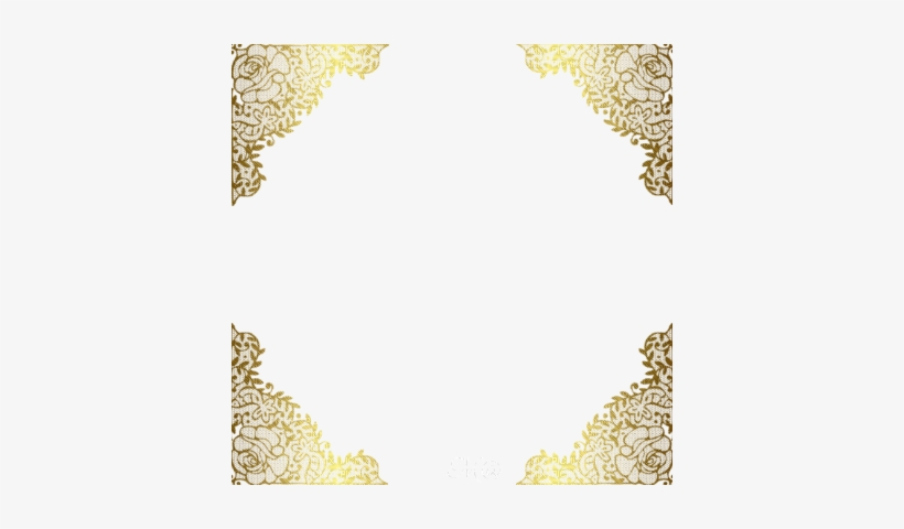 Best Of Clip Art Border Frame Lace Dark Gold Frame.