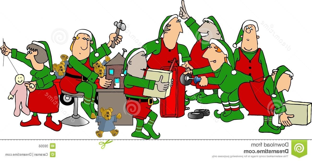 Best HD Santa Workshop Clip Art File Free » Free Vector Art.