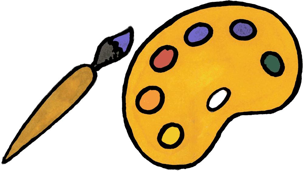 Free Artist Cartoon, Download Free Clip Art, Free Clip Art.