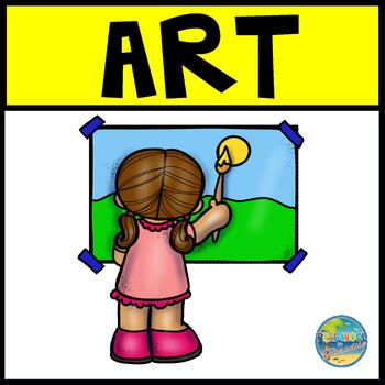 Preschool Art Worksheets & Teaching Resources.