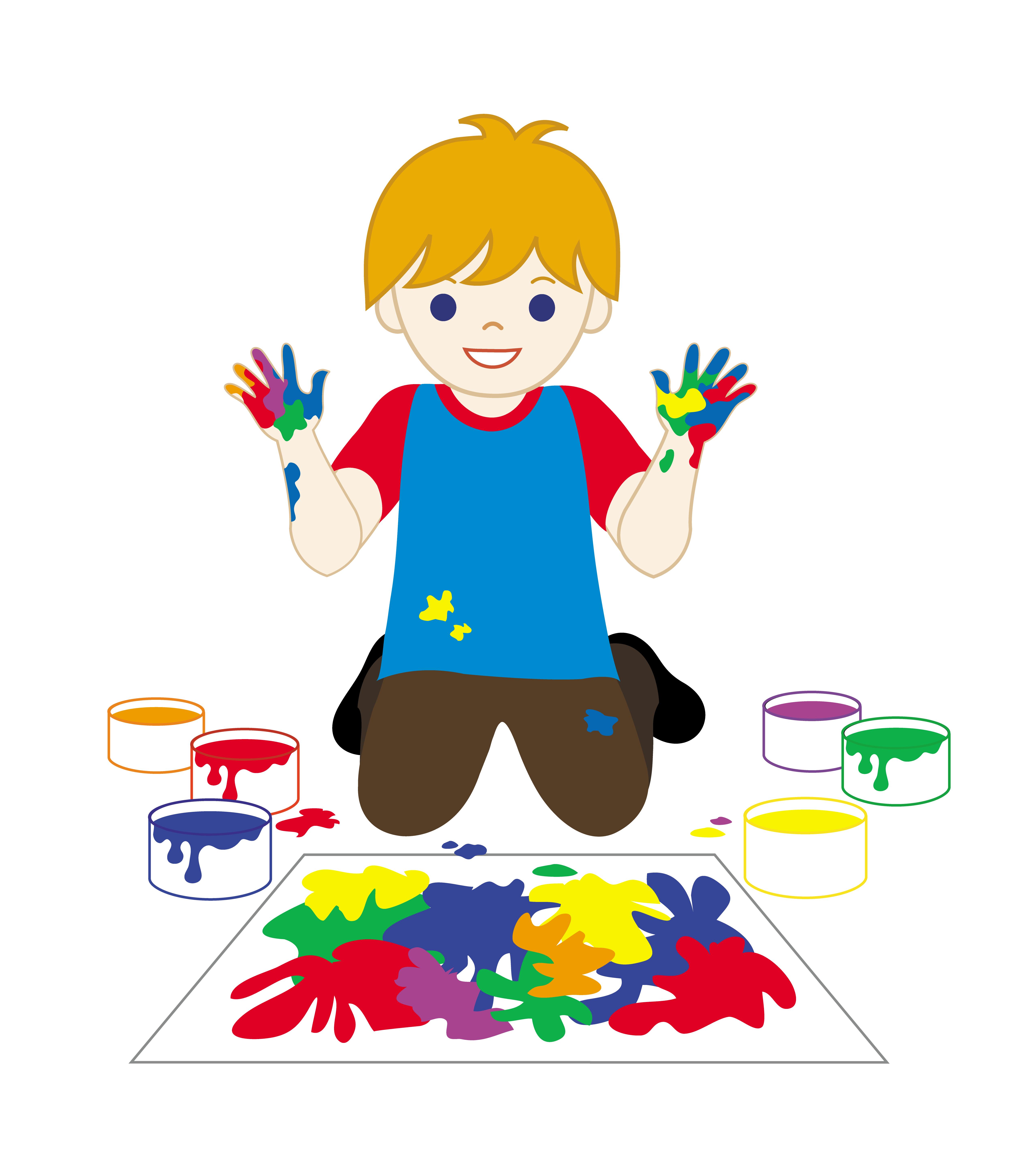 Children Art Clipart.