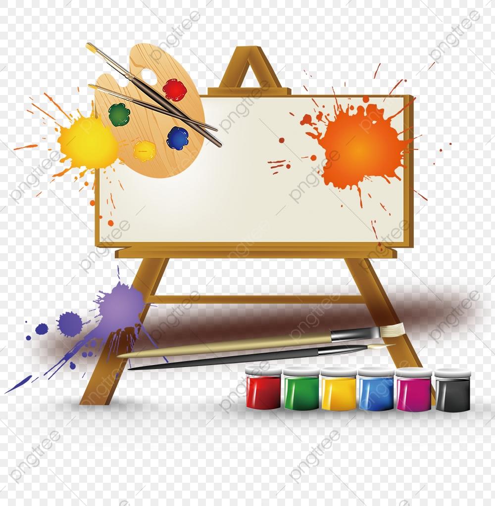 Art Class Enrollment Poster Background Material, Art Classes.