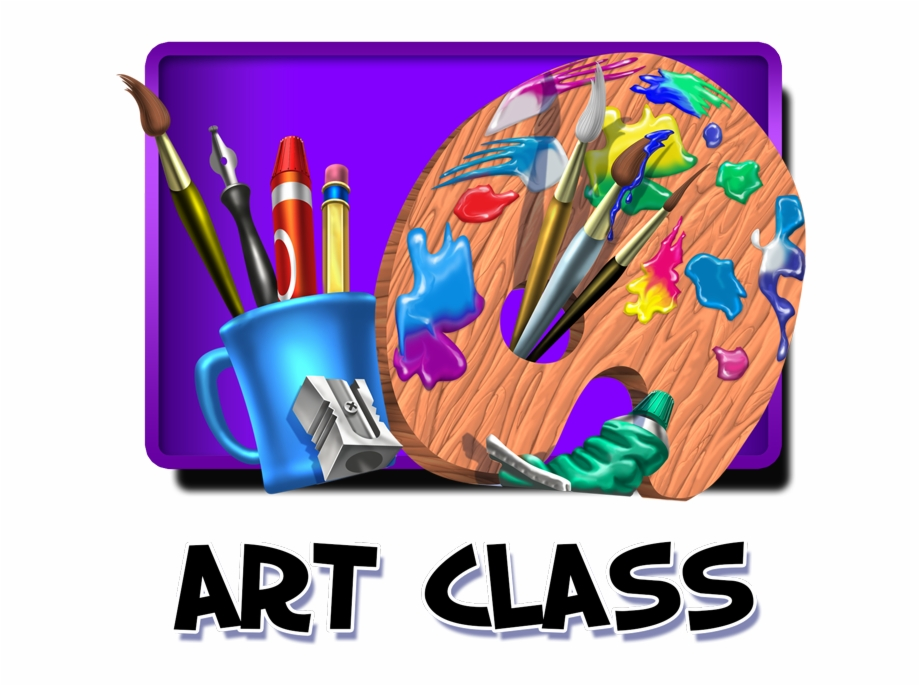 Art Class Clip Art Free Free PNG Images & Clipart Download #2518618.