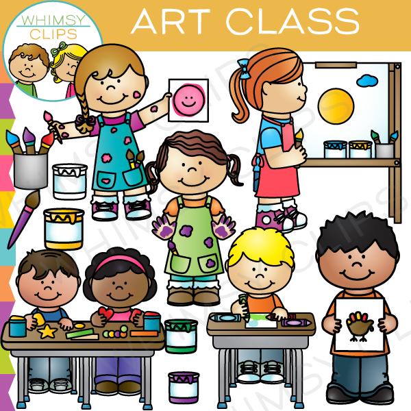 24+ Art Class Clipart.