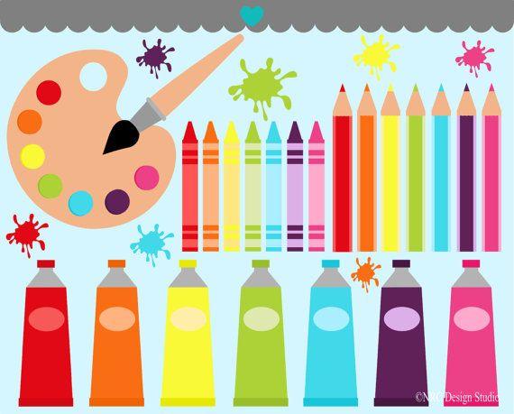 Art Class Clip Art Graphics.