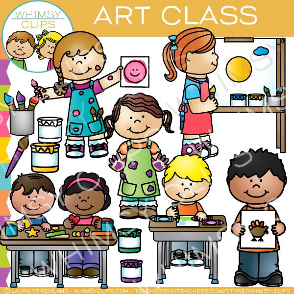 Art class clipart 5 » Clipart Station.