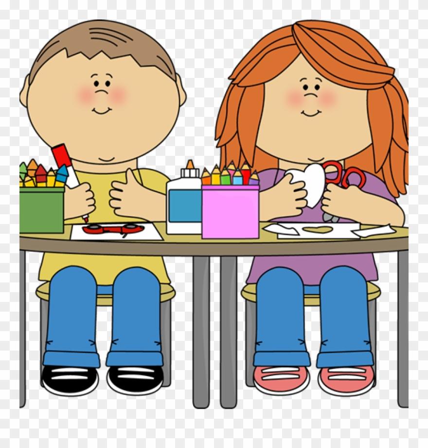 Art Class Clipart Kids In Art Class 550495 Kid Idea.