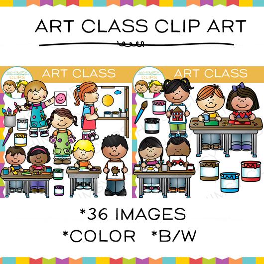 Art classes clipart.