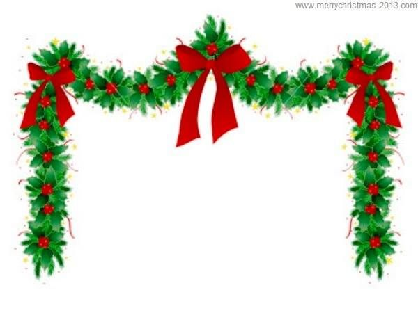Christmas Border Free Clip Art.