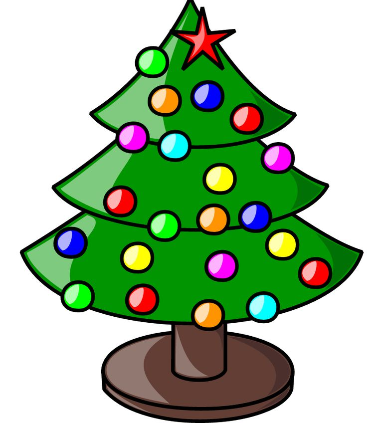 128464 Christmas free clipart.
