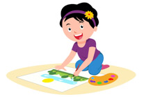 Free Art and Crafts Clipart.