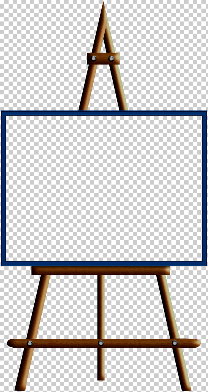 Easel Painting Art , watercolor ribbon PNG clipart.