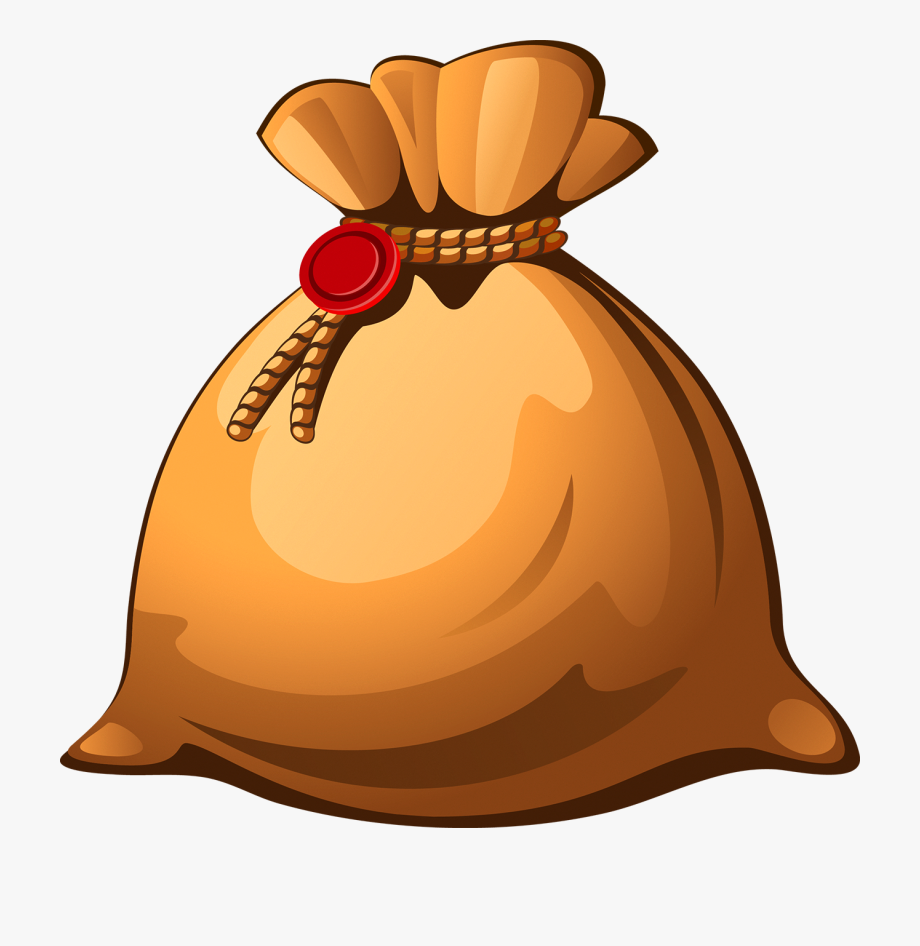 Graphic Free Money Sack Clipart.