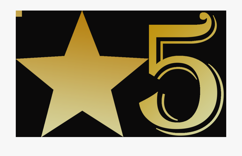 5 Star Rated Symbols Clip Art Rated Clipart.