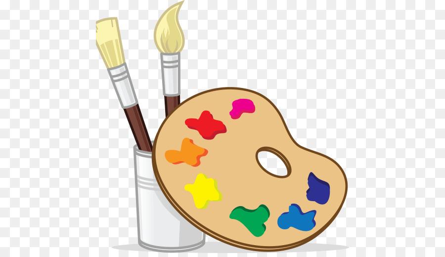 Painting Cartoon clipart.